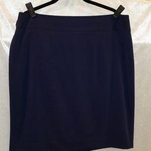 Alfani pencil skirt Navy size 12